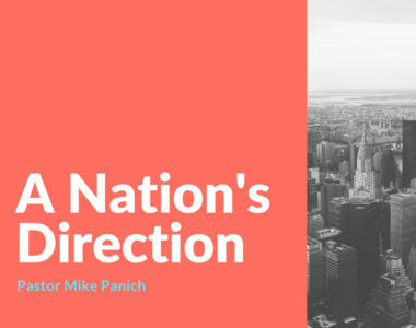 A Nation's Direction