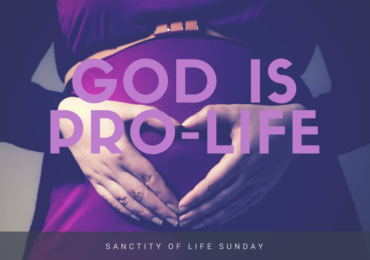 God is Pro-life